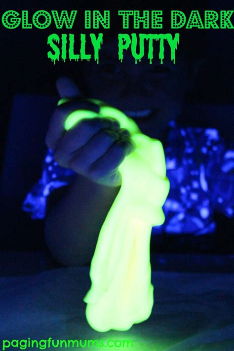 glow in the paint ac glow in the silly putty silly putty paint and glow