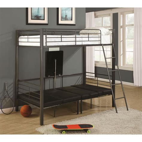 coaster loft bed coaster furniture 460264 convertible loft bed
