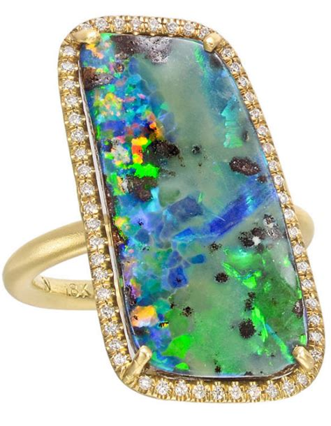 jewelry daily daily irene neuwirth boulder opal and pav 233