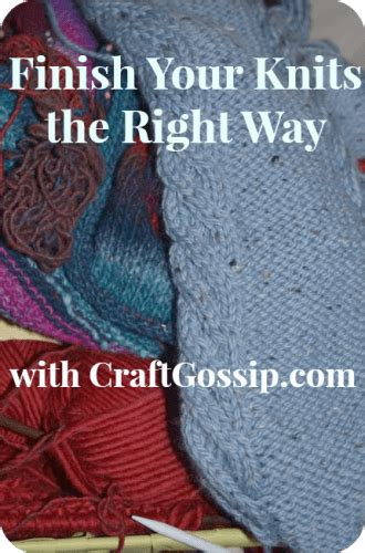 how do you finish a knitting project finishing month should you finish or frog that project
