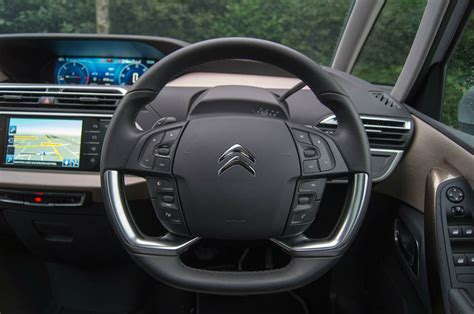 Citroen Steering Wheel by 2013 Citroen C4 Picasso Review For The Family