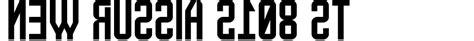 rubber st font generator new russia 2108 st font