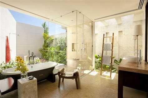 Modern Home Design Examples decorating your bathroom with lovely plants