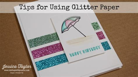 glitter paper for card cards archives ink it up with card