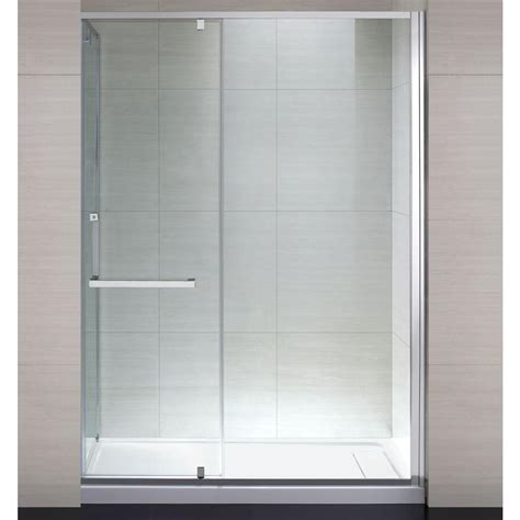 shower doors home depot schon 60 in x 79 in semi framed shower