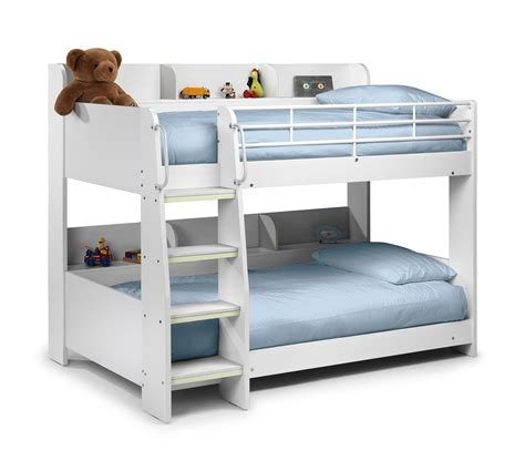 bunk beds white julian bowen domino bunk bed white bunk beds beds