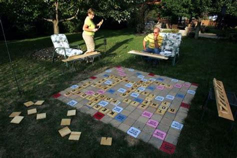 outdoor scrabble board pin by unruh on outdoor ideas