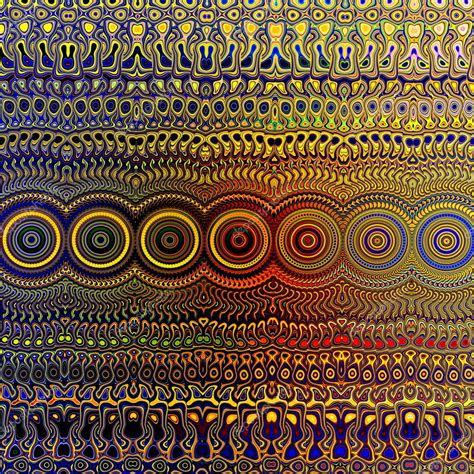 unique wall patterns psychedelic colourful pattern unique abstract artwork
