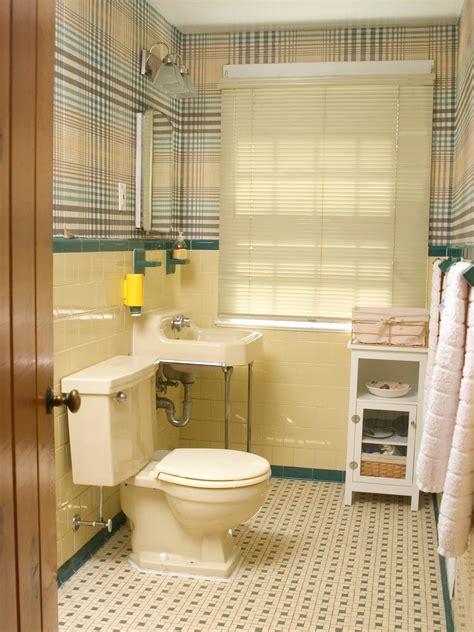 redecorating bathroom ideas redecorating a 50s bathroom hgtv