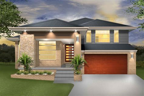 house plans and design modern house plans split denman split level sloping block marksman homes illawarra and southern highlands
