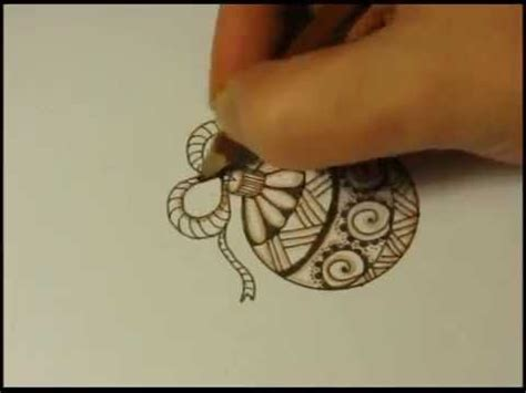 how to draw a ornament how to draw a ornament