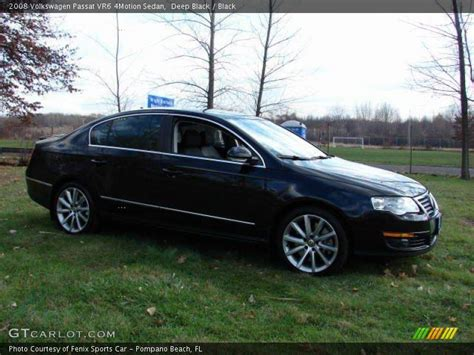2008 Volkswagen Passat Vr6 by 2008 Volkswagen Passat Vr6 4motion Sedan In Black
