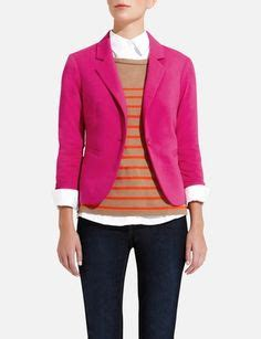 pink knit blazer pink blazer on pink blazers pink