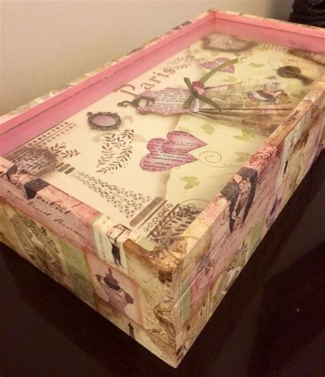 decoupage furniture with scrapbook paper 17 best images about decoupage on shabby chic