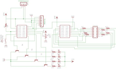 light controller schematic led controller planning quadcopter