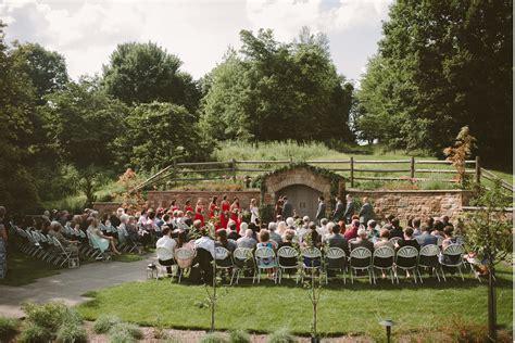 wedding at botanical garden wedding pittsburgh botanic garden