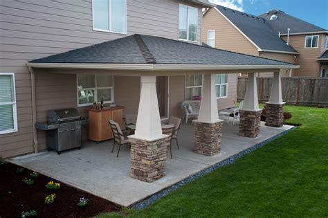 backyard porch designs for houses sublimity covered patio hueller construction