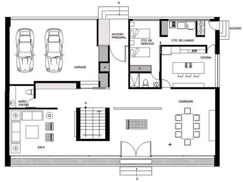 ground floor plans house ground floor plan gp house in hidalgo mexico by bitar