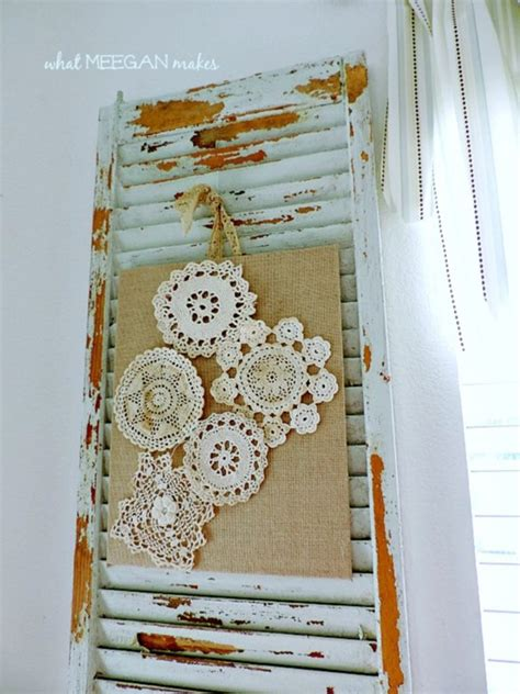 vintage craft ideas and projects 10 beautiful doily craft projects to make shabby