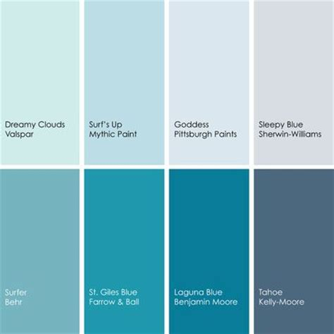 behr paint colors benjamin blue paint picks for bedrooms clockwise from top left 1