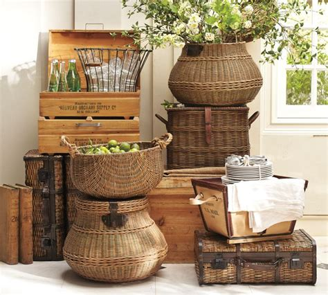 Centerpiece Ideas For Kitchen Table 6 ways to use baskets in your home