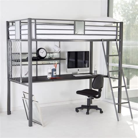 bunk beds and desk combos functional room furniture ideas metal bunk bed and