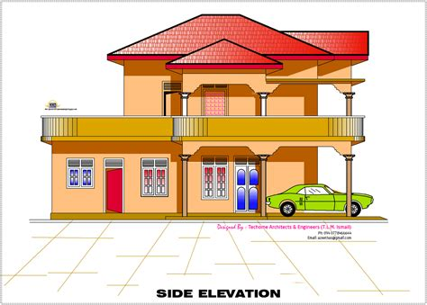 home design 2d plan 2d elevation and floor plan of 2633 sq house design