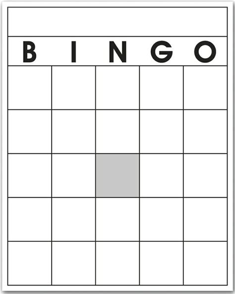 make your own bingo cards template bingo template blank bingo template 第6页 点力图库