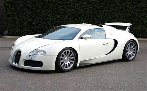Bugati Cars by Sports Cars Bugatti Veyron White