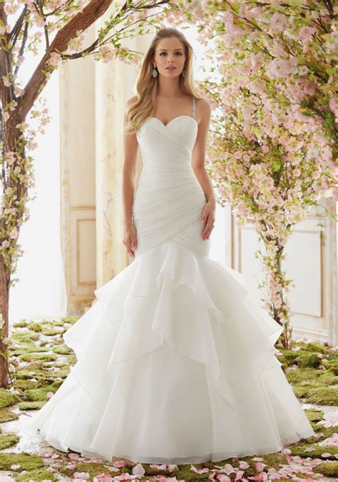 beaded organza wedding dress beaded straps on organza wedding dress morilee
