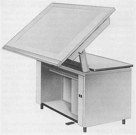 hamilton vr20 drafting table hamilton industries drafting table midcentury retro