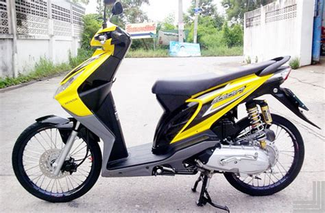 Gambar Modifikasi Motor Honda Beat by Foto Modifikasi Motor Honda Beat Air Brush Simple