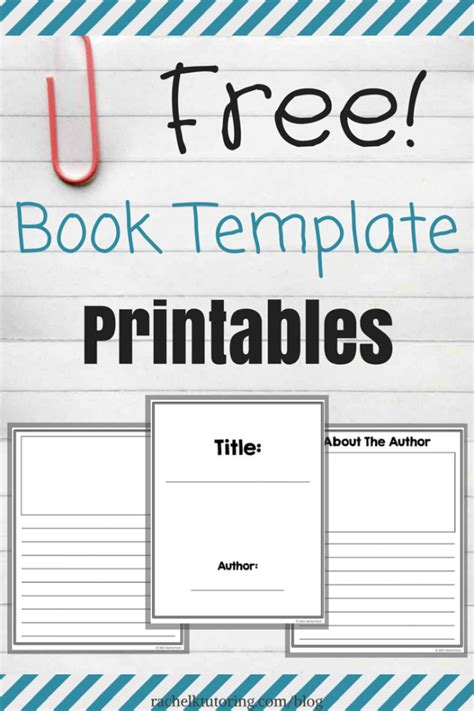 print your own picture book free book template printables k tutoring