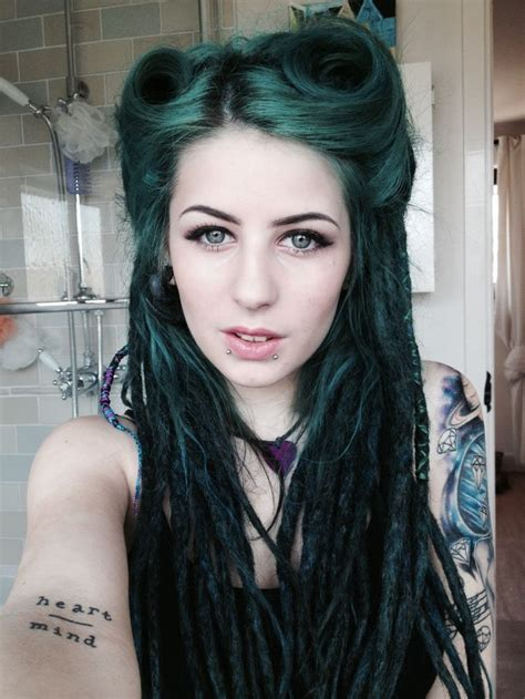hairstyles done on a mannequin with green hair 17 best images about dreadlock rasta pin up hairstyles