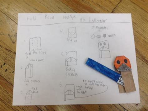 how to fold origami anakin skywalker origami wars anakin comot