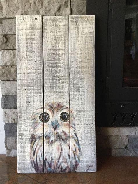 acrylic paint on wood ideas best 25 on wood ideas on wood painting