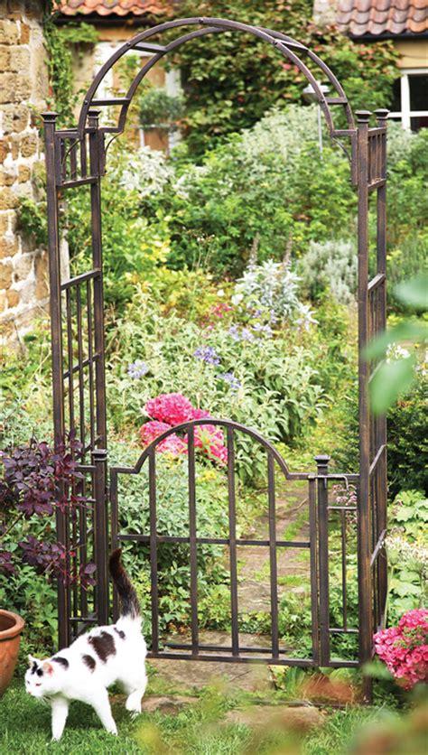 Garden Arch Gate Uk Uk Garden Fencing Mackintosh Garden Arch With Gate