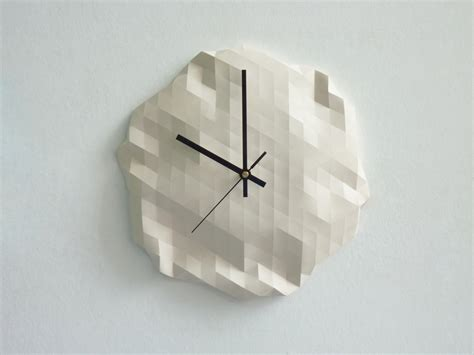 how to make an origami clock origami clock14 fubiz media