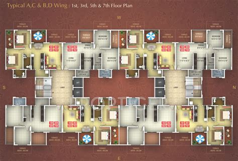 graceland floor plans 1028 sq ft 2 bhk 2t apartment for sale in gobind builders