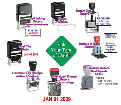 a rubber st creates what type of print choose a date st tst rubber st