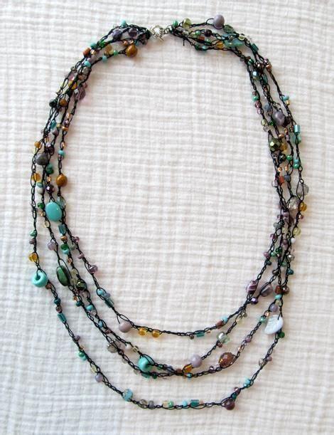 diy beaded jewelry tutorials diy tutorial diy necklaces crochet beaded necklace