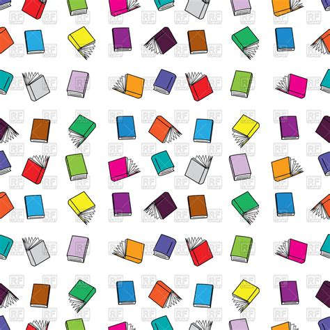 pattern picture books seamles pattern made of colorful books literature