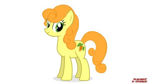 gold pony my pony golden harvest by eugenebrony