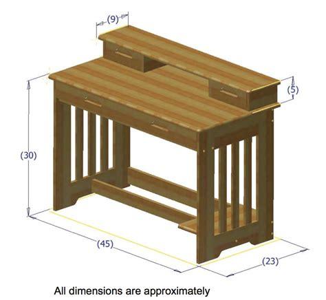student desk dimensions discovery world furniture espresso desk with hutch kfs