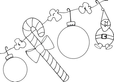 colour in decorations pictures to colour in whychristmas