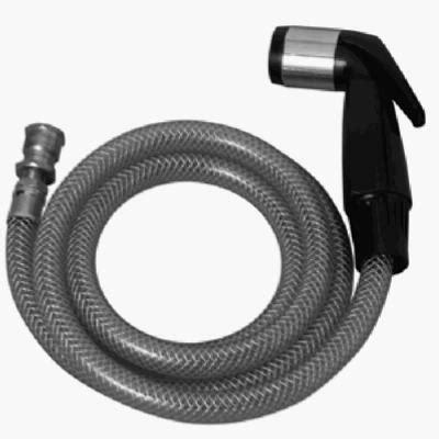 kitchen sink hose plumb shop div brasscraft black sink spray hose for