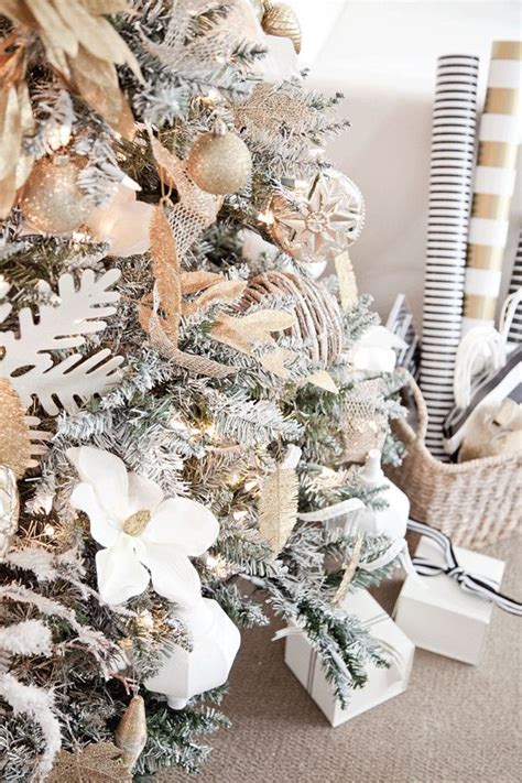 gold and white tree best 25 white ideas on