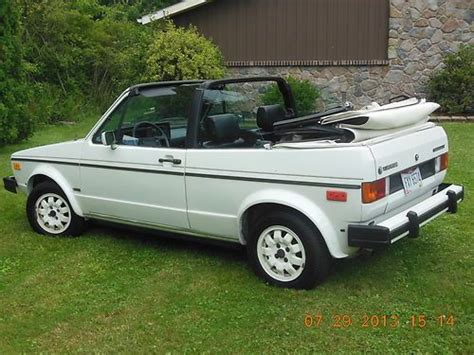how cars work for dummies 1985 volkswagen cabriolet security system find used 1985 volkswagen cabriolet convertible in cleveland ohio united states