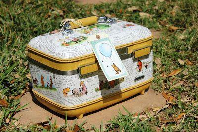 how to decoupage a suitcase 17 migliori idee su decoupage suitcase su