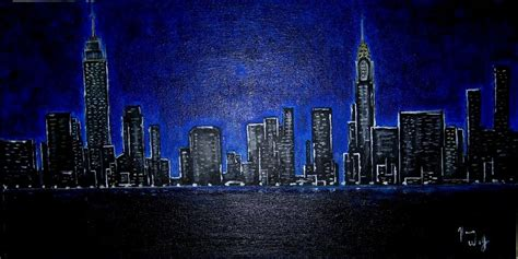 paint nite cities image gallery cityscape